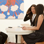 Matthew Marks at Art Basel Miami in 2009.  Courtesy of � Andy Freeberg all rights reserved.