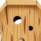 A playful house for cats, crafted out of cardboard by Loyal Luxe exhibited at this year's show.