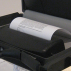 In Case by Materious. A briefcase that conceals a paper shredder for the corrupt businessman.