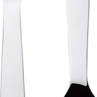 Accento cutlery for Serafino Zani, 2009.  Photo by: Oliver Mark