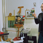 """Grcic's father favored antiques while his mother decorated the house with brightly colored 1960s art and objects. As a result, said Grcic, he was used to contrast. In his own work, he is always honing in on the essential. """"It's totally unconscious,"""" he says, of what we look for and respond to in design. He constantly observes as people interact with their environments. """"It's about how we sit in chairs. But it's also who is the one sitting in that chair, and how and when.""""  Photo by: Oliver Mark"""