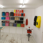"""""""In May 2011, we opened our first store in a trendy upcoming area in Copenhagen. The idea behind having the shop is to get close to our customers by letting them participate and step right in to our studio/workshop/shop, giving them a unique experience. Adding to that we have also chosen to not only focus on a single product category. We like to play around with the concept of a 'design brand' and not to limit ourselves. This goes for testing various different business models as well."""""""