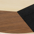 The birch plywood Miss Susan ($175), a mod take on a lazy susan, was designed by Cecilia León de la Barra last year.  Courtesy of © MoMA 2011.