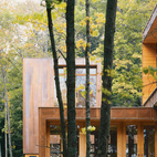 Working with architect Vincent James in the late 1990s, Coen and Partners were charged with integrating the 8,000-square-foot Type Variant House outside of Minneapolis into the ever-changing, lush wooded surroundings.    This originally appeared in 101 Landscape Architecture.