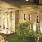 This rendering shows how Alfred Mullet's building--he also did the executive building next to the White House--will look when the renovation is complete. At present San Francisco is one of only two major cities without a museum dedicated to its history. Staggeringly, history-obsessed Boston is the other.