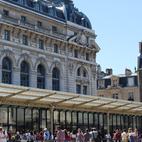 The original train station-hotel was built by architect Victor Laloux just in time for the World Fair in Paris on Bastille Day (July 14) in 1900. Called Gare d'Orsay, the station had 148-yard platforms that became obsolete only forty years later, since they were too short for the longer, modern, electric trains. After falling into disrepair, plans were fortunately made in 1973 to convert it into a museum, with the blessing of President Pompidou.