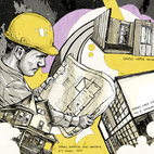 Prefab Parlance: From Kynar and Galvalume to SIPs, the terminology associated with prefab construction can be daunting. We asked a handful of architects and designers to help us build a prefab glossary of the top terms and definitions related to modular housing. Illustration by Tim Tomkinson