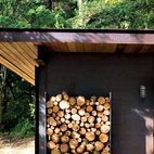"""OK, we're cheating a little here, as this one is on Salt Spring Island, just southwest of Vancouver. Here, Olson Sundberg Kundig Allen Architects crafted a cabin—modest in size yet bold in design—on the site where another cottage once stood. """"The small size creates an intimate, protected refuge within a larger landscape,"""" architect Tom Kundig says. """"It forces you to engage with the bigger landscape yet still provides a sanctuary from the elements."""""""