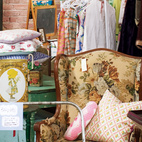 The Vintage Bazaar captures the ephemeral appeal — and inherent thrill — of traditional flea markets. Danish modern items are still predictably popular, but vendors don't discriminate.  Photo by: David Robert Elliot