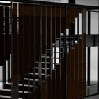 Spacings Submitted by: Name not provided Designer's Description: The SPACINGS sliding door system concept is based on intervals and stems from the patterned arrangements of steps in a staircase and metal stud wall construction details. Spacings achieves doors, room dividers, partitions, and both horizontal and vertical access in a building.