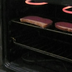 Our oven is also a toaster.