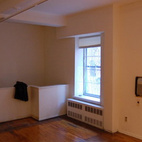 Here's what the living room looked like before.