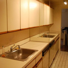 Here's what the kitchen looked like before.