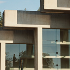 """""""Many of Arthur Erickson's buildings have a cold Brutalism about them; [with the Museum of Anthropology] he's achieved a balance between that with the warmth in his treatment of windows,"""" says Omer Arbel. """"The way the light comes in is almost a mystical experience."""" Photo by João Canziani.  Photo by João Canziani."""