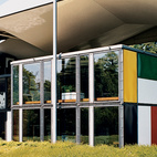 The Heidi Weber House, a museum dedicated to Le Corbusier and built from his own designs after his death, contains an extraordinary collection of the Swiss architect's sculptures, paintings, furniture, and writings. The prefabricated steel, free-floating roof, and glass framing are strikingly unique structural elements.  Photo by: Gunnar Knechtel