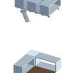 Other configurations of architect Tadashi Murai's modular design.  Photo by: Alessio Guarino