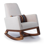 """The Monte Joya rocker is made-to-order in Canada with amazing construction and design quality.""—Summer Robertson"