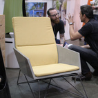 Hard Goods's modern Muskoka chair won first place in the very competitive Furniture category.  Photo by: Alejandro Chavetta