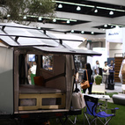 Another view of the award-winning Cricket Trailer on the Dwell on Design show floor.  Photo by: Alejandro Chavetta