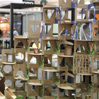 """Noble Environmental Technologies wins for its post-consumer """"cardboard"""" called ECOR.  Photo by: Alejandro Chavetta"""