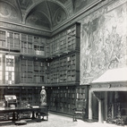 The library was designed by Charles McKim between 1902 and 1906.