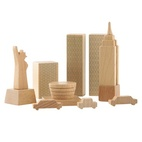 This wooden New York in a Box set from Muji is perfect for the little friend with an Empire State of mind.