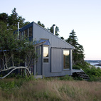 The view from Bruce's cabin is a sight for sore eyes. One of the outermost inhabited islands on the American eastern seaboard, Criehaven (technically Ragged Island) is located 20 miles off the Maine coast and one mile south of Matinicus Island.