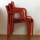 Hale found these Stendig chairs from Finland at a junk store in Seattle. He paid $15 per chair.  Photo by: Philip Newton