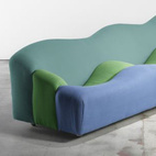 Designed by Pierre Paulin, the ABCD sofa was manufactured for Artifort and came in both sofa and love seat variations.    This originally appeared in Sitting Pretty.