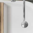 Whimsical design company Note created this Step sink to split the level of your sink so you can forget about soap residue on the counter.