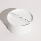 Körner commissioned Container to develop an identity and packaging that both reflected the heritage and granddaughter Rebecca Körner's wish for a modern multi-tasking range. Seen here, the Radiate Presence Day Cream jar with four individual parts lurking inside.