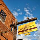 Old school Ale House Inn signage.