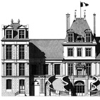 Thibaud HeremThe beauty certainly lies in the details for London-based French illustrator Thibaud Herem. At first glance, his architectural rendering handiwork seems photographic, but upon closer inspection, the magic reveals itself in the meticulous pencil and Indian ink hand drawn detailing the illustrator is known for.