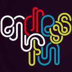 "Endless colorful tubular type, part of a ""growing collection of projects and experiments centered around typographic illustration."""