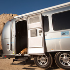 With Airstream 2 Go, you can rent a 23-foot or 28-foot Airstream, with interiors designed by architect Chris Deam, for a quirky, resolutely American vacation experience. Photo by Alison Turner.  Courtesy of: Alison Turner