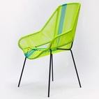 MojitoCurvy and elegant, León León designed this chair to be used both indoors and out. $579