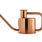 The X3 watering can by Paul Loebach for Kontextür is a minimal vessel inspired by Eastern European motorcycles, and the company's first product for use outside of the bathroom, $120.