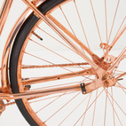What's that? You love copper so much you want to ride it? You're in luck. Van Heesch's copper bike is now for sale via Anthropologie. It even includes a copper chain lock and copper bell (plus handling gloves, naturally).  Courtesy of Van Heesch.