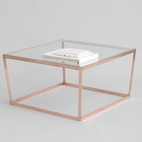 Seattle-based duo Iacoli & McAllister have been mining the copper vein for awhile (see their Algedi table), and this year at ICFF they introduced a copper version of their Frame Coffee Table.  Courtesy of Iacoli & McAllister.