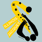 This saxophone abstraction is for Illinois Jacquet's Illinois Jacquet Collates #2 from 1953 for Clef Records.