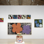 """On display are the classic """"Marilyns,"""" flowers, Brillo boxes, and Polaroids, as well as the Maos and Basquiat prints.Credit Stefan Altenburger, Courtesy The Brant Foundation"""