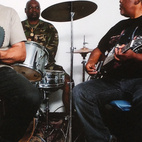 Photo of Sir Joe Quarterman & Free Soul (left) and Sugar Bear (right).  Photo by: Eli Meir Kaplan