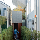 After purchasing a thin, L-shaped lot in Tokyo, Tamotsu Nakada asked architect and friend Koji Tsutsui to create an open-plan concrete home to fit the site.  Courtesy of Iwan Baan .