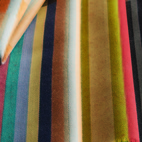 The studio works closely with a mill in Lancashire, England, which weaves the larger pieces and batch production. Check out even more textiles here.