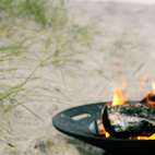 From Danish company Skagerak, the Helios Fire Bowl Set is the perfect addition to Dad's back patio. The bowl can be used as a fire pit, and the stainless steel grille can be added with some charcoal to grill burgers, vegetables, and anything else Dad might crave.