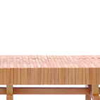 The Block bench by L.A. studio Sitskie is made of an interlocking block system that molds itself according to the sitter's position. Each block in this handmade chair can be taken out and replaced without disrupting other blocks.