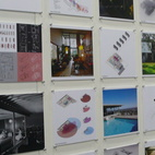 Students from design schools, such as AAVSLA, displayed their work in the Design for Tomorrow pavilion.