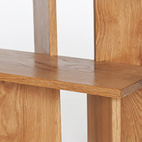 Lurie's Step/Stool is available in ash, cherry, white oak, or walnut wood.