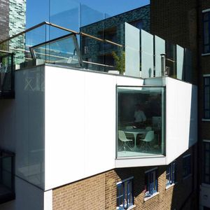 Grange Yard window and facade