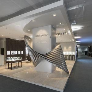 Georg Jensen installation by Zaha Hadid.
